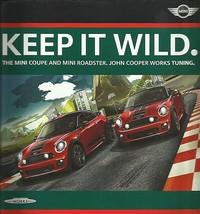 2012/2013 Mini JOHN COOPER WORKS Coupe Roadster brochure catalog accesso... - $12.00