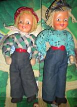 Polish Dolls - 2 Dolls from Poland - $10.50