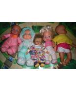 Baby Dolls - Lot of 5 Plush Dolls - $15.00