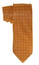 Club Room Acorn Dot Print Classic Silk Neck Tie, One Size, Orange - $21.38
