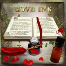 Handmade Love Ink. Absolute for love, romance spells sigils talismans  - $25.55
