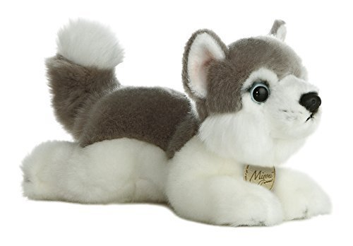 "Primary image for Aurora World Miyoni Husky Plush, 8"" [Toy]"