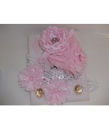 BABY GIRL SMALL BLOOMERS/DIAPER COVER SET (MANY... - $14.00 - $16.00