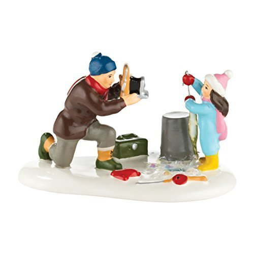 Primary image for Department 56 Original Snow Village Loon Lake Champion Accessory, 2.36-Inch