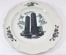 "Wedgwood Marina City Towers Chicago Collectible Plate 10.25"" Marshall Fi... - $37.49"