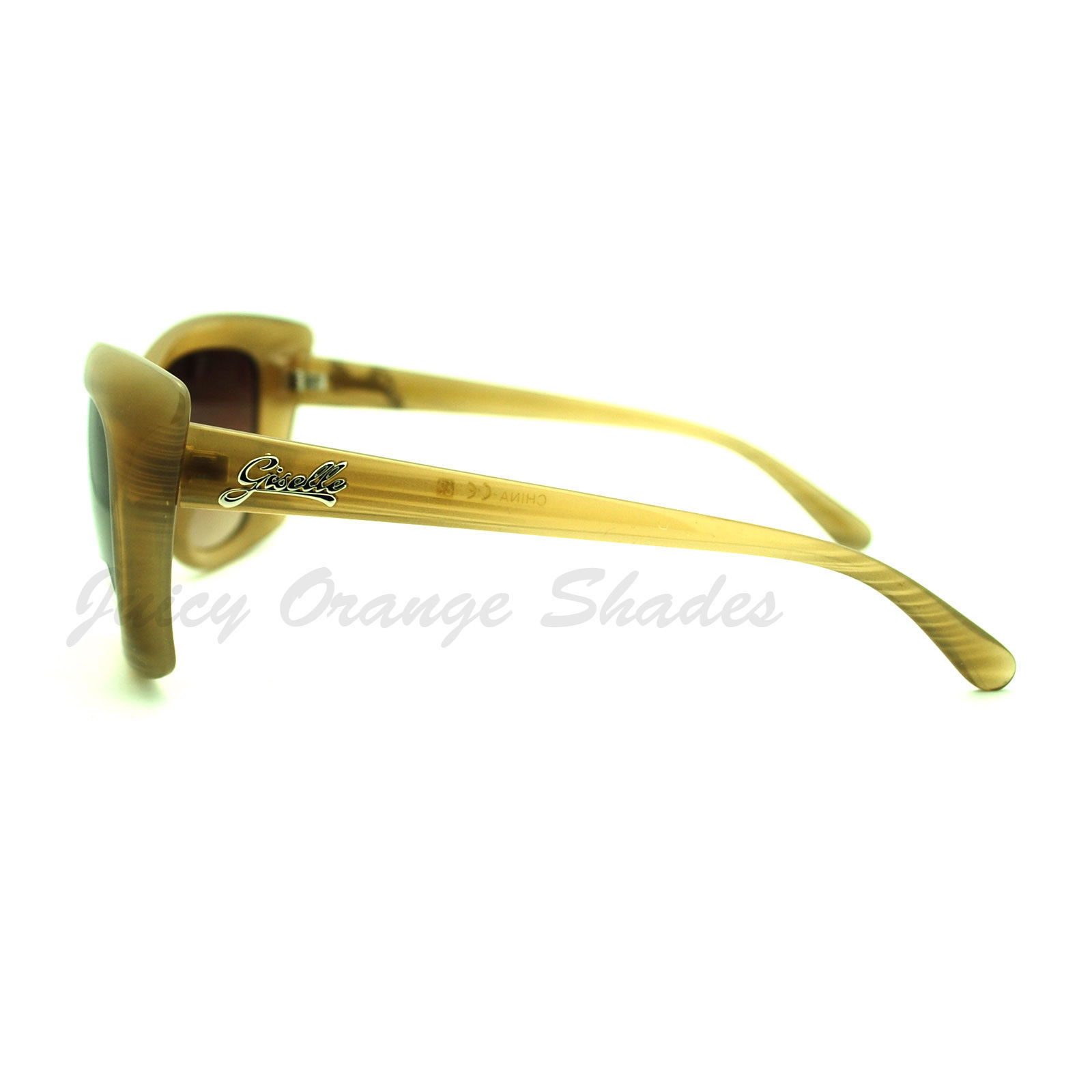 Oversized Square Butterfly Frame Sunglasses Women's Fashion