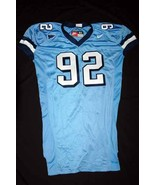 UNC Tarheel GAME USED WORN FOOTBALL JERSEY SIZE... - $42.00