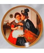 """Norman Rockwell """"Gossiping in the Alcove"""" Collector Plate - $14.99"""