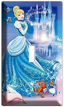 Princess Cinderella Light Switch Plate Children's Girls Play Game Room Bedroom - $8.99