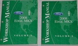 2008 Ford Edge Lincoln MKX Service Shop Repair Workshop Manual SET OEM F... - $44.54
