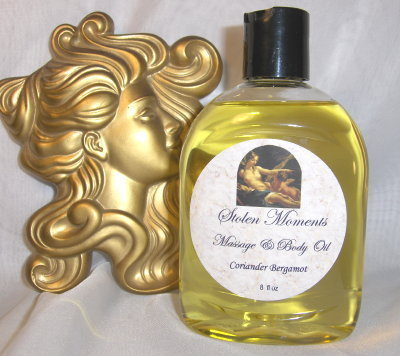 Cotton Candy Scented Massage & Body Oil with Jojoba 8oz