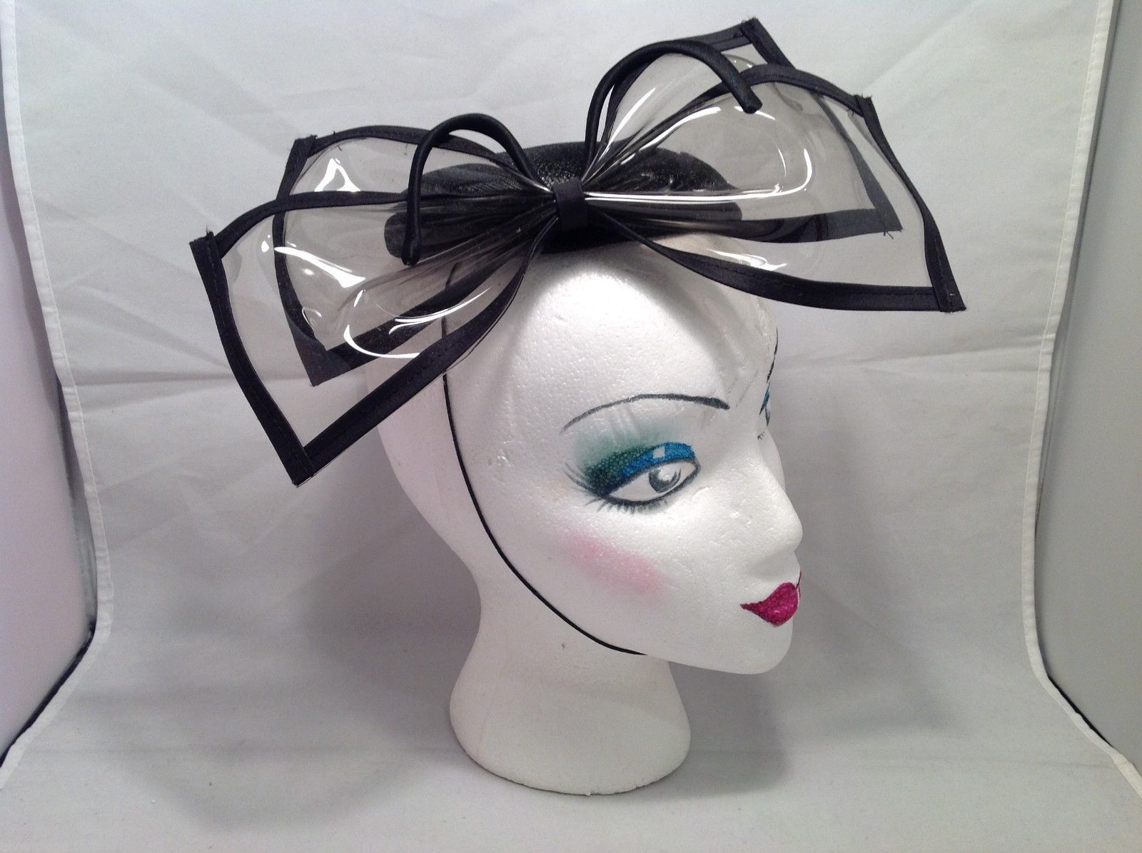 Ophelie Hats Black Bow Fascinator