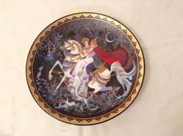 The Exile Vintage Royal Porcelain Plate Hand-Painted China Love Story of Siam #5
