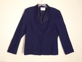 Womens Kasper for ASL Navy Blue Blazer, Size 14