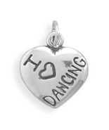 73607 i love dancing charm thumbtall