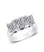 3 diamantes quilates tres anillos de piedra de ... - $6,842.64