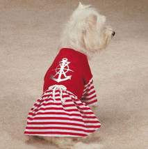 All Paws on Deck Dog Dress Anchor Pet Red Nautical Sailor  XXS - L - $12.99+