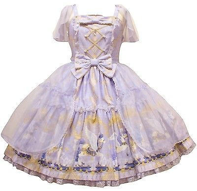 Angelic Pretty Crystal Dream Carnival Tiered JSK Dress Lolita Japanese Fashion