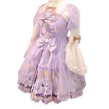 Angelic Pretty Crystal Dream Carnival Tiered JSK Dress Lolita Japanese Fashion image 2