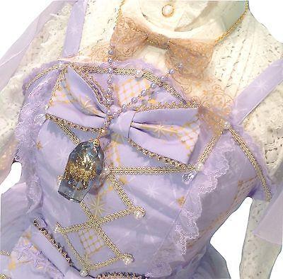 Angelic Pretty Crystal Dream Carnival Tiered JSK Dress Lolita Japanese Fashion image 6