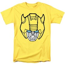 Transformers Bumble Bee Head T-shirt retro 80s toys saturday cartoon yellow tee image 2