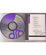Seagate Backup Solutions for IBM CD for Windows 3.X, 95, 98(?), NT & OS/... - $2.00