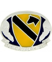 1st Cavalry Division Cast Belt Buckle - $14.99