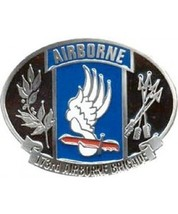 173rd Airborne Division Cast Belt Buckle - $14.99