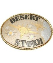 Desert Storm Cast Belt Buckle - $14.99