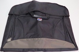 American Tourister Carry-On Gamet Hanging Hanger Bag Black Tan Lightweight - $19.80