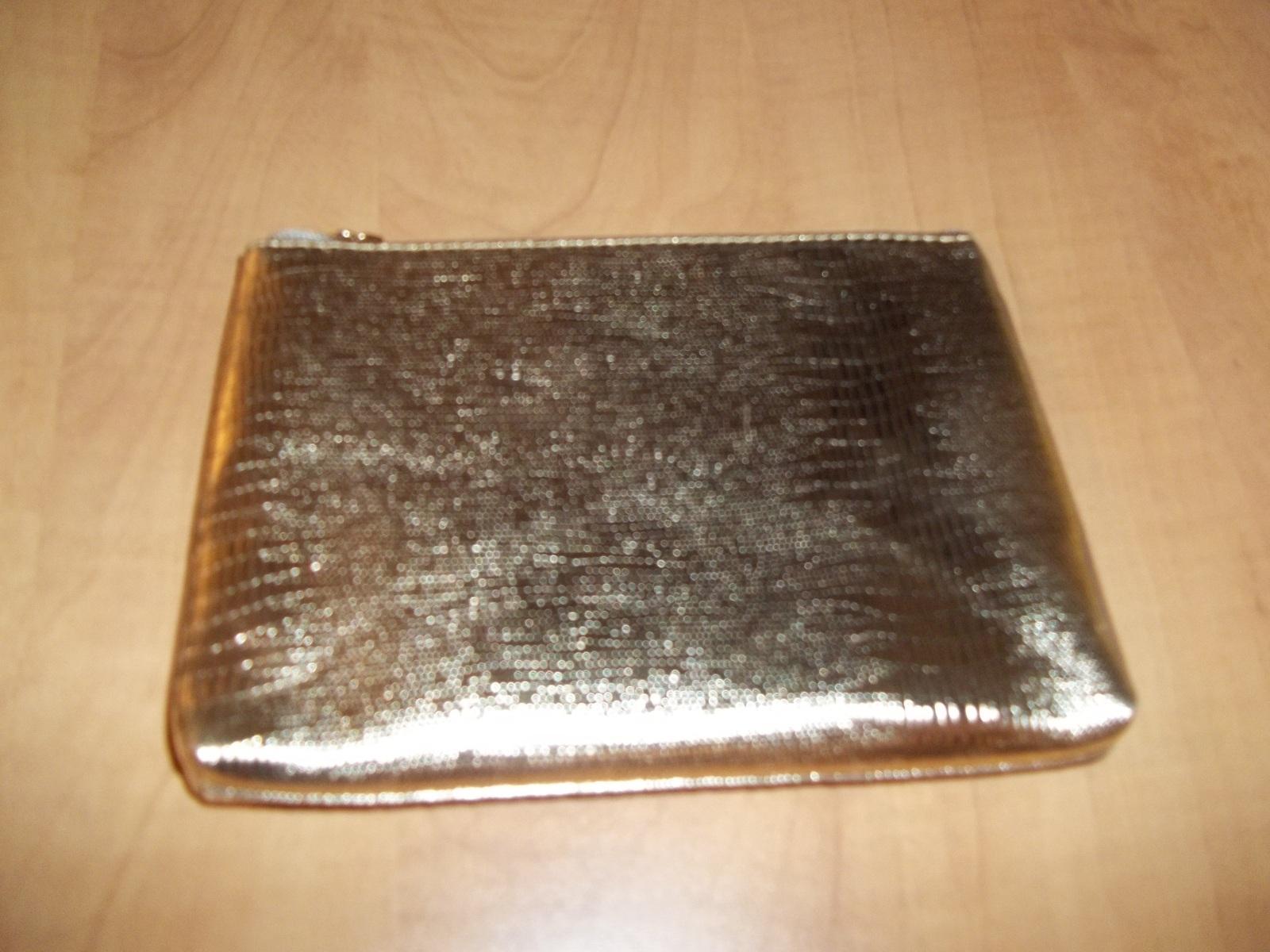 Lancome Cosmetic Bag Gold - $9.99