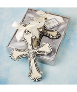 Cross Ornament Favor Christening Gifts Baby Sho... - $2.90