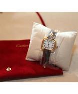 Cartier Godron Square 18K Gold Women Watch - $6,200.00