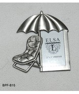Elsa L Metal Beach Umbrella Photo Frame - $10.99