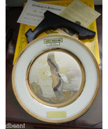 BALD EAGLE Plate Dynasty Chokin LTD Ed  TERMUITSU Japan w Box ~ Cert NIB - $17.95