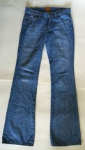 James Jeans Size 24 Flare Light Wash Blue Preserved Denim Cotton USA Mad... - $19.78