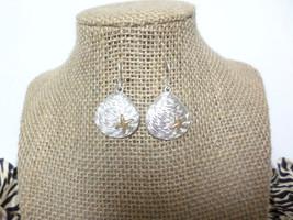 Silver Seashell Gold Starfish Hook Drop Dangle Earrings, gift - $8.50