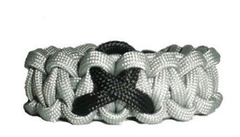 Melanoma Black Awareness Ribbon Paracord Bracel... - $8.50