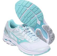 Mizuno WAVE RIDER 21 Women's Running Shoes White Marathon Walking J1GD18... - $88.26