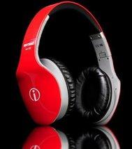 RHYTHMZ AIR HD Over Ear Headphones (Red) - $45.29