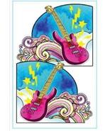 24 Rock Guitar Instant Sticky Corner Pockets Notes Holder Sticko EK Success - $51,78 MXN