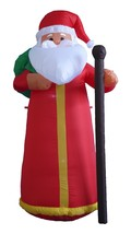 6 FOOT Christmas Inflatable Santa Claus Lighted Party Garden Balloon Dec... - $75.00