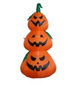 Halloween Inflatable Lighted Pumpkins Outdoor Indoor Garden Yard Decorat... - £34.21 GBP