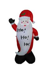 Christmas Inflatable Santa Claus Big Beard Lights 2015 Yard Outdoor Deco... - £38.11 GBP