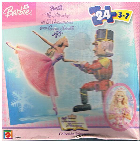Barbie nutcracker puzzle