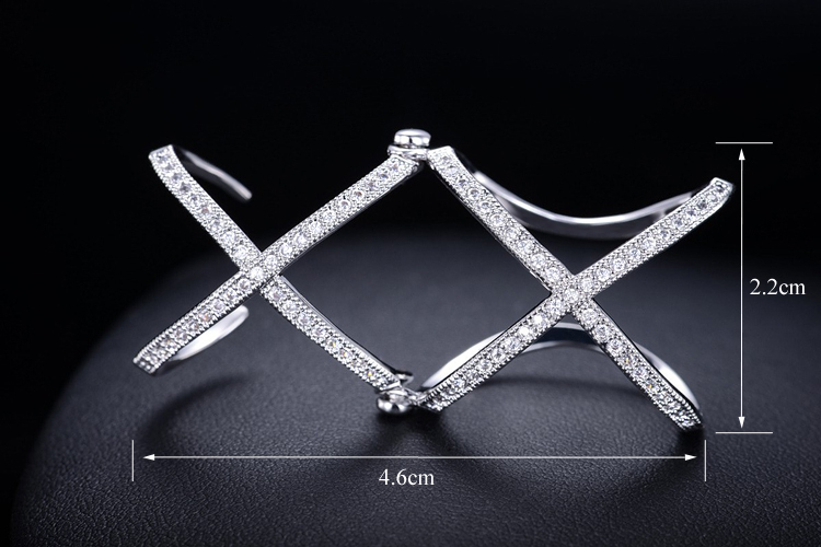 Double Criss Cross Ring, Double X Ring, Unique Ring, Full Finger Ring Open Ring