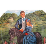 Collector Plate, Gone With The Wind - Bonnie & Rhett, Knowles China - $35.00