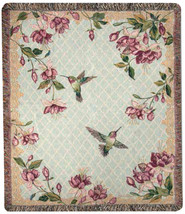 """Rubies Among the Fuchsias"": Tapestry - $49.00"
