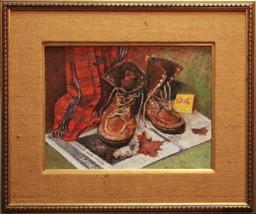 Original signed oil painting by Texas artist De... - $350.00