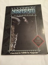 Nosferatu Clanbook. Vampire the Masquerade, World of Darkness, White Wolf - $14.50